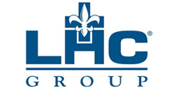 LHC Group logo and link