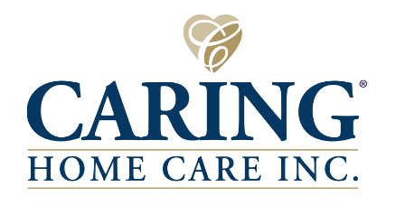 Caring Home Care logo and link
